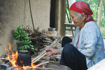 Bếp lửa chiều đông