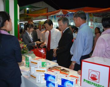 Khai mạc Hội chợ thương mại quốc tế Miền Trung và Tây Nguyên