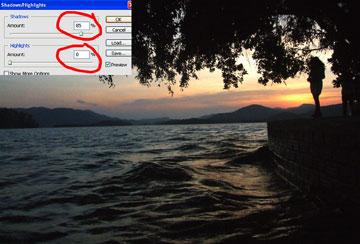 Xử lý ảnh chụp với photoshop CS