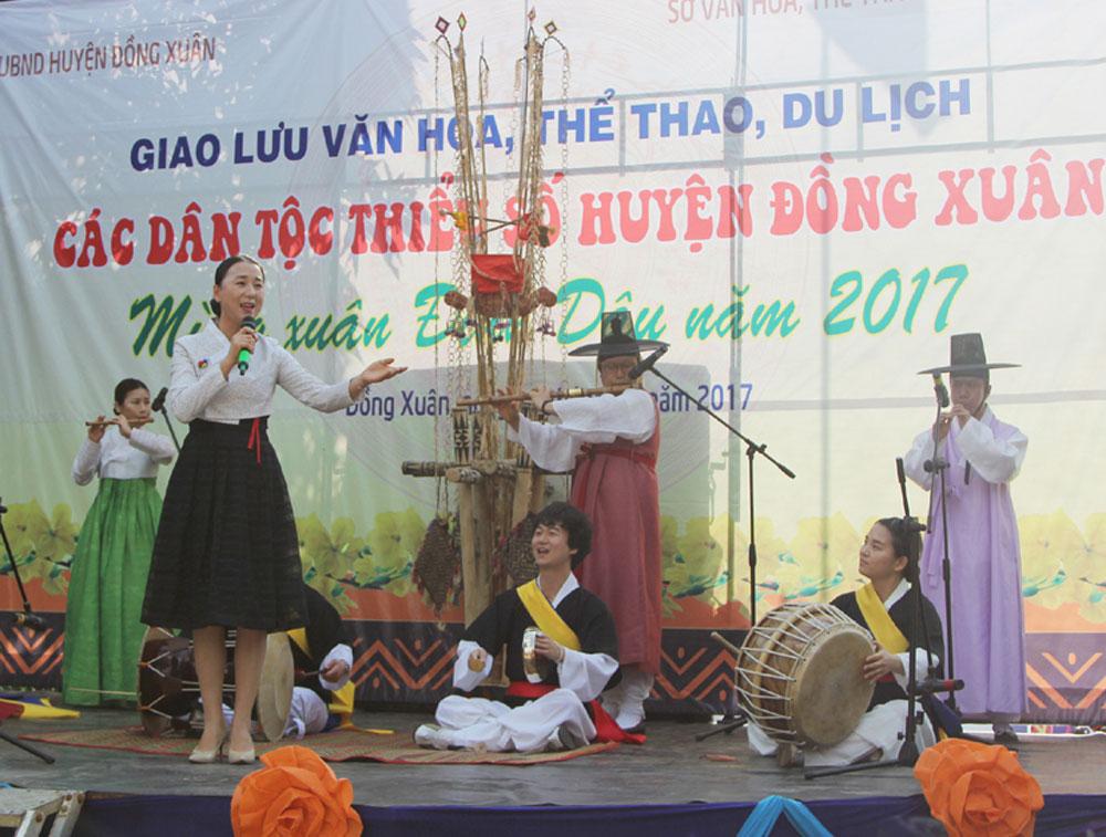Giao lưu văn hóa, thể thao du lịch huyện Đồng Xuân năm 2017