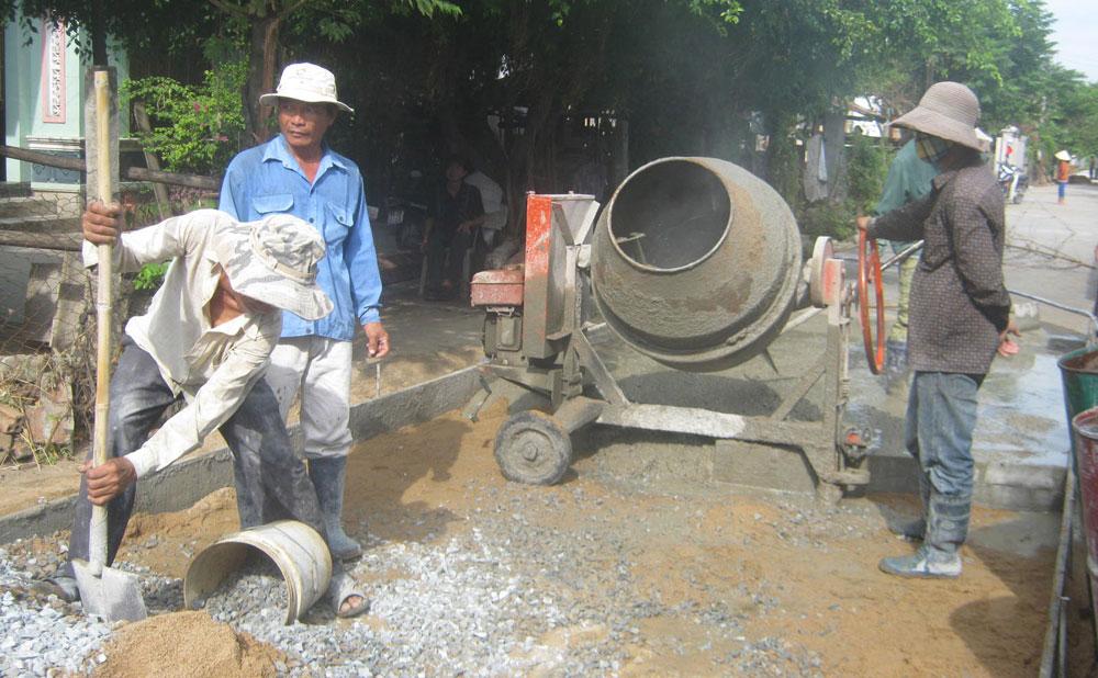 Đông Hòa: Tăng tốc trong xây dựng nông thôn mới