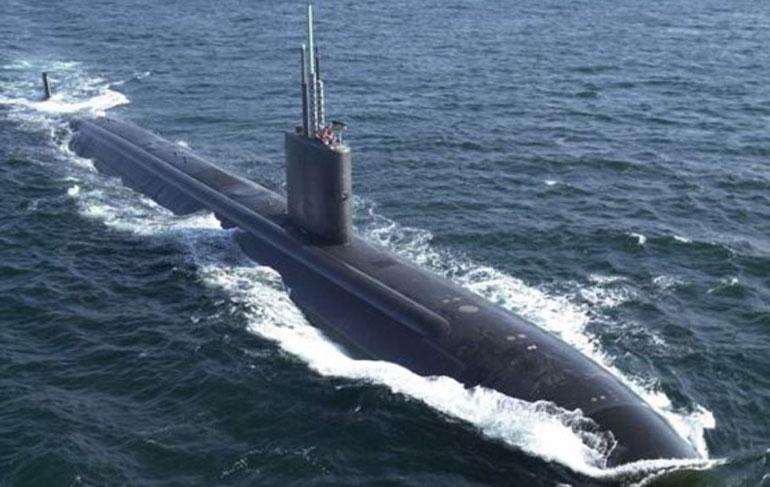 Kết quả hình ảnh cho Uy lực tàu ngầm USS Tucson áp sát bán đảo Triều Tiên
