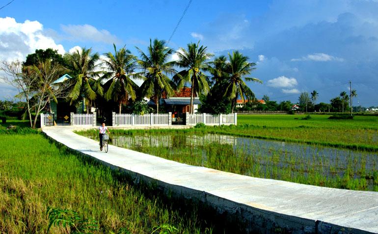 Làn gió đô thị hóa làng quê