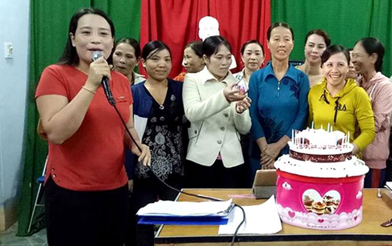 Hội LHPN xã Xuân Quang 3: Thu hút hội viên bằng mô hình sáng tạo