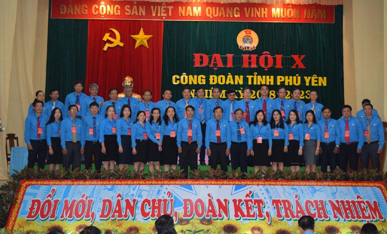 Bế mạc Đại hội Công đoàn tỉnh Phú Yên lần thứ X nhiệm kỳ 2018-2023