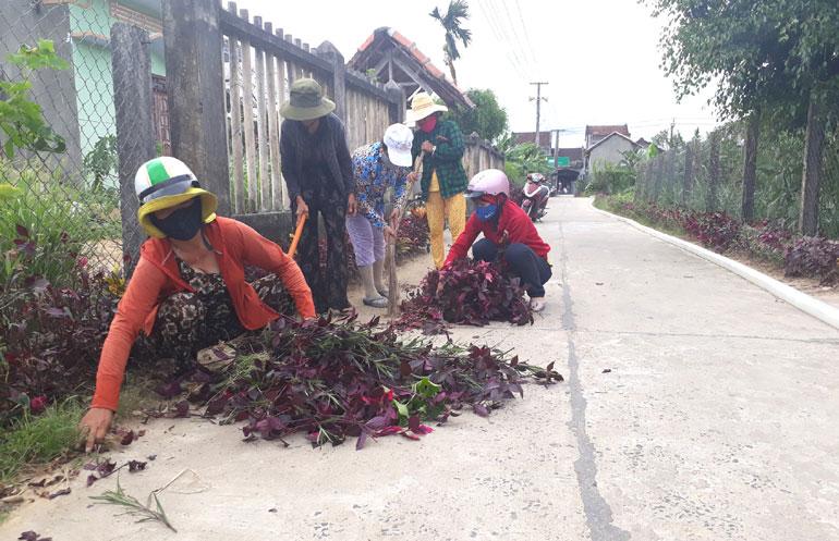 Phát huy vai trò của phụ nữ trong xây dựng nông thôn mới