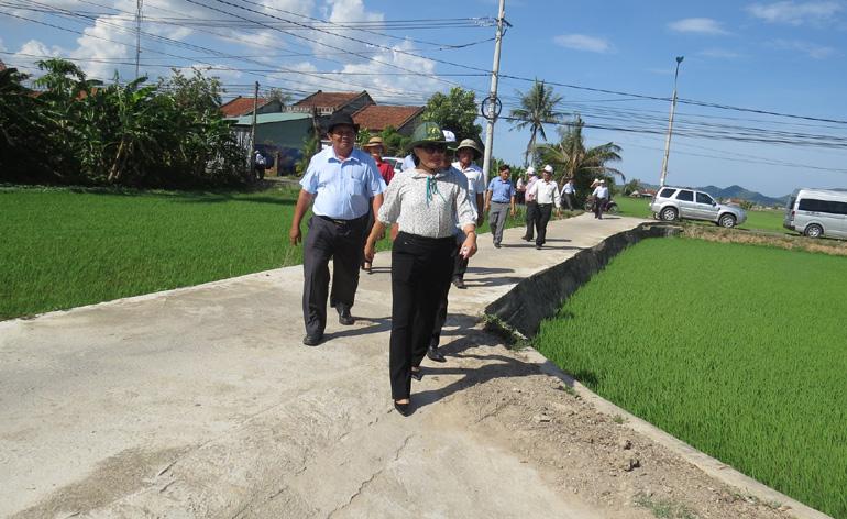 Thẩm định, xét công nhận huyện Tây Hòa đạt chuẩn huyện nông thôn mới ( - 1560737570)