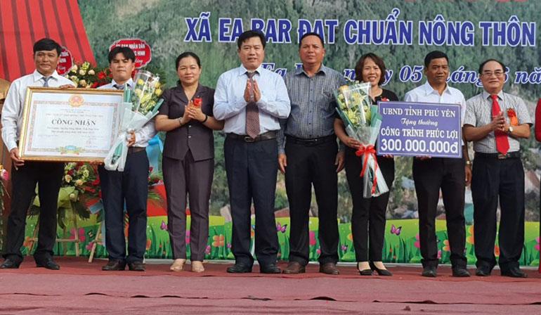 Xã thứ 5 của huyện Sông Hinh đạt chuẩn nông thôn mới