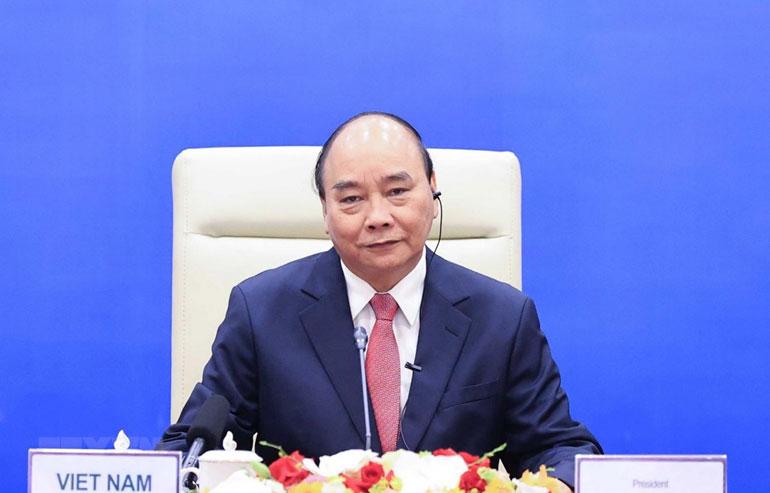 Chủ tịch nước Nguyễn Xuân Phúc chủ trì phiên họp thứ ba Hội đồng Quốc phòng và An ninh nhiệm kỳ 2016-2021