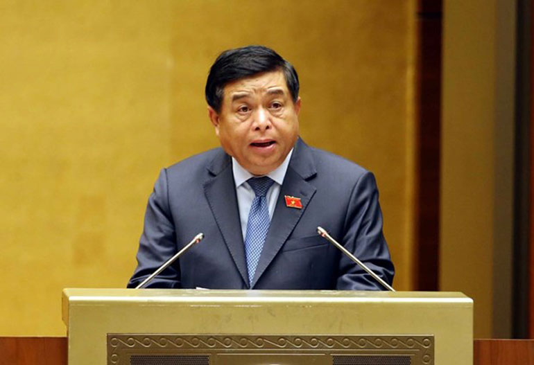 Bộ trưởng Bộ Kế hoạch và Đầu tư Nguyễn Chí Dũng. Ảnh: /TTXVN