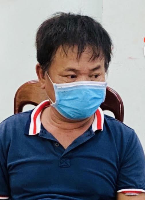 Đối tượng Phan Văn Thống đang bị tạm giữ tại Công an huyện Tây Hòa. Ảnh: VB