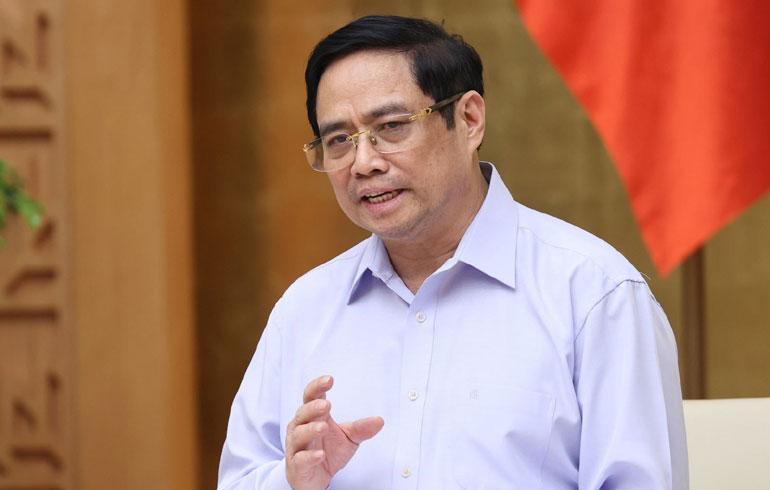 Thủ tướng Chính phủ Phạm Minh Chính. Ảnh: TTXVN
