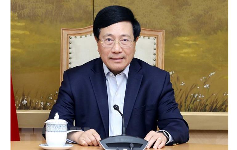 Phó Thủ tướng Chính phủ Phạm Bình Minh, Chủ tịch Hội đồng Tư vấn đặc xá 2021. Ảnh: TTXVN